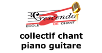 Cours Collectifs Chant Piano ou Guitare